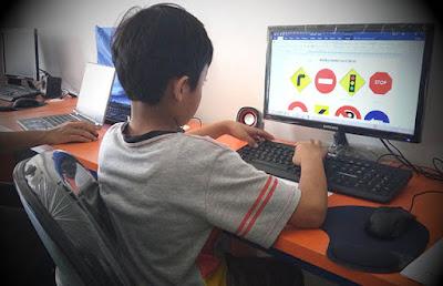 Komputer for Kids - retro kursus komputer