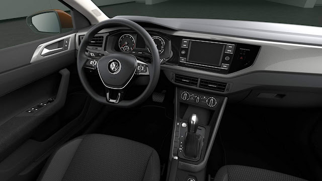 VW Polo 2018 - Interior - Comfortline