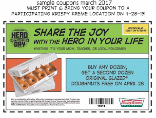 Krispy Kreme coupons march 2017