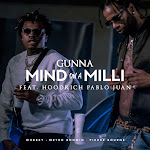 Gunna - Mind On a Milli (feat. Hoodrich Pablo Juan) - Single Cover