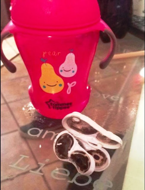 Father Opens Up His Sick Son's Sippy Cup's Anti-Spill Top and Saw Something That Will Gross You Out!