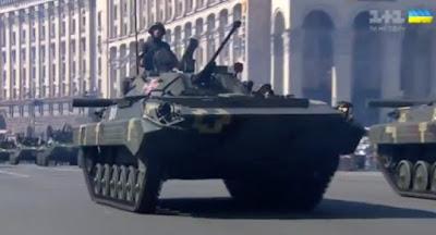В Киеве состоялся военный парад в честь Дня независимости