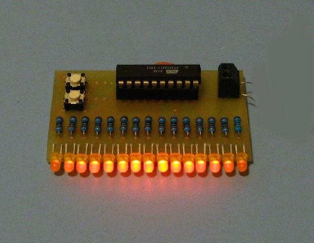 Running Light Chaser Circuit