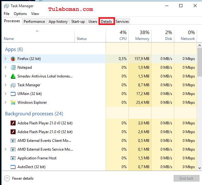 Cara Memperbaiki Tombol Pada Taskbar Windows 10 Yang Tidak Berfungsi
