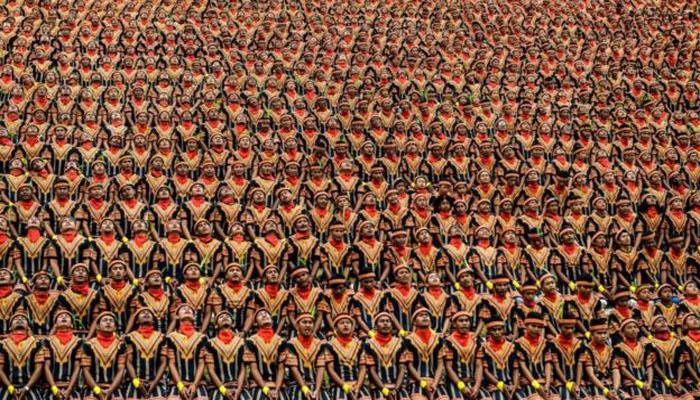 Tari Saman Massal Pecahkan Rekor Dunia