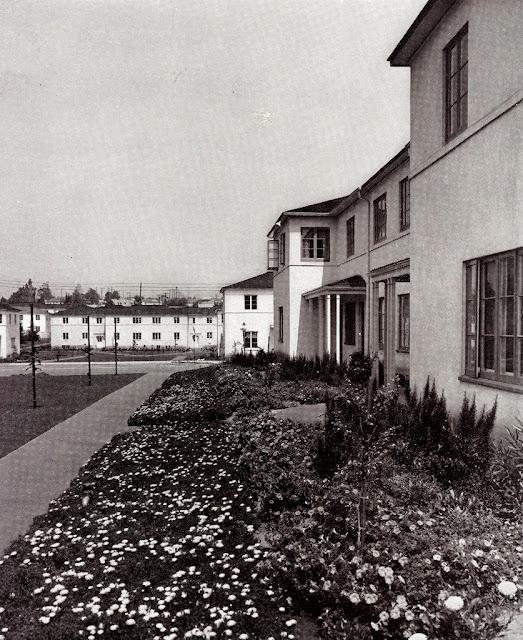 Wyvernwood Garden Apartments: Baldwin Hills Village...and The Village Green: Garden
