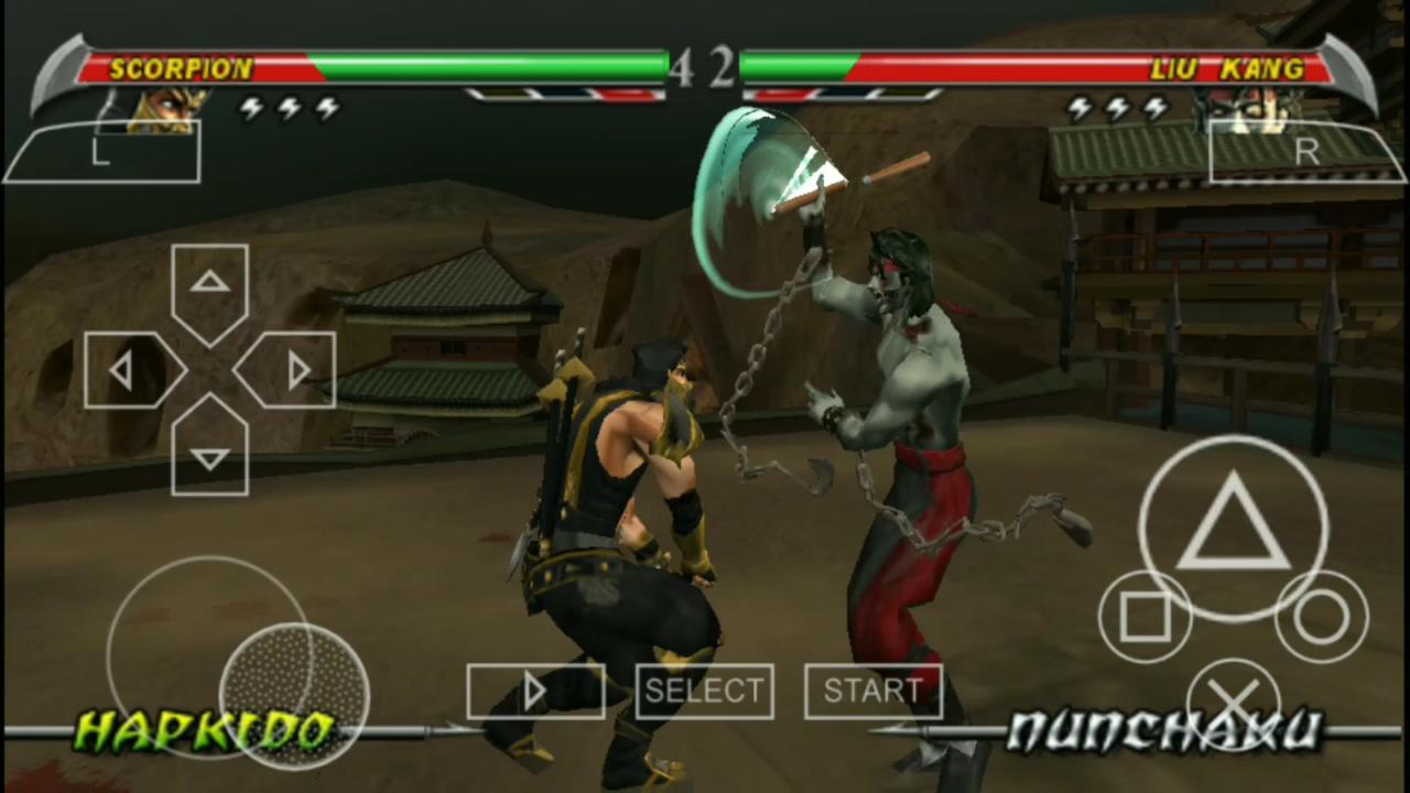 Mortal Kombat : Unchained PPSSPP   Sachin Chauhan