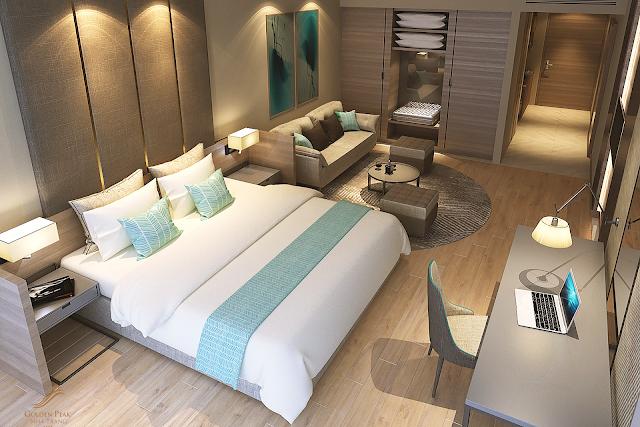 tiện ích phòng ngủ căn hộ dự án Golden Peak
