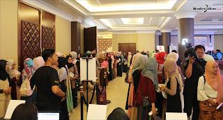 Antrian peserta Audisi Sunsilk Hijab Hunt 2018
