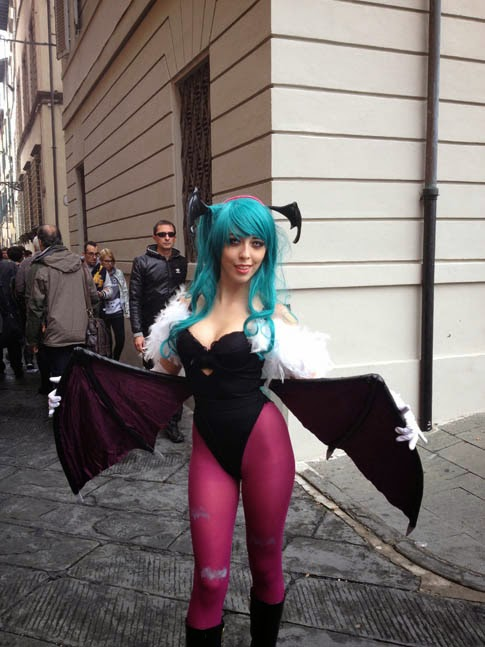 Foto cosplayer Lucca Comics and Games 2013