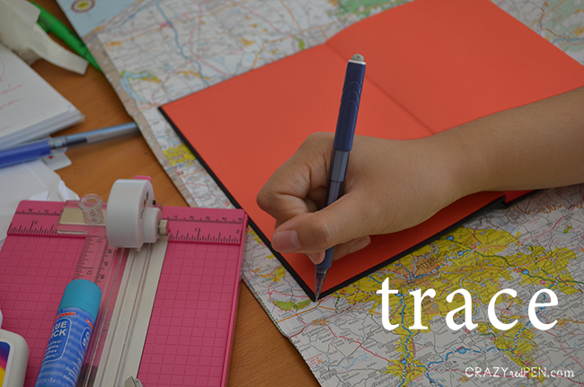 Travel Journal Trace Step