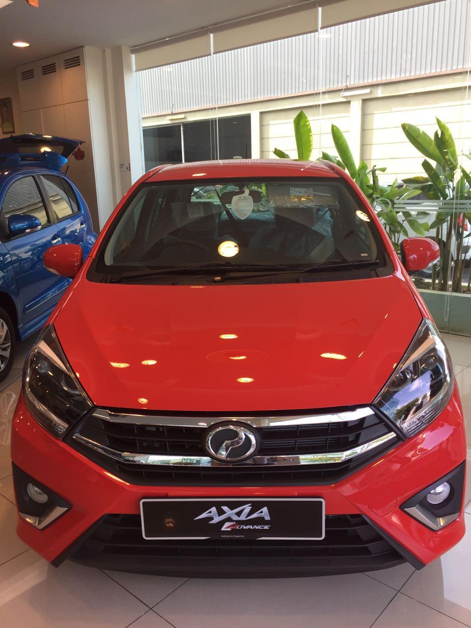 Perodua Axia,Warna pilihan,Model dan Harga terkini ~ BELI