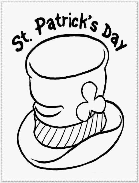 coloring pages of saint patrick day