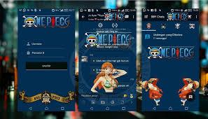 BBM MOD One Piece Versi 2.12.0.11 APK