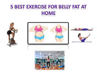 5 Best exercise for belly fat at home