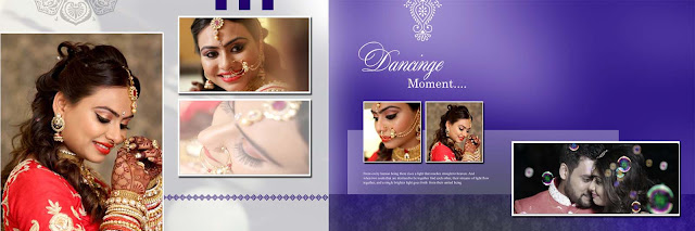 Pre Wedding Album Design