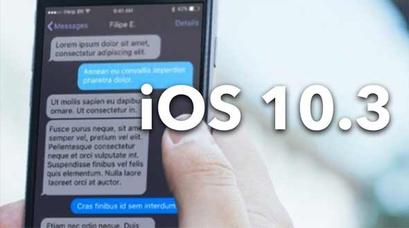 iOS 10.3, iOS