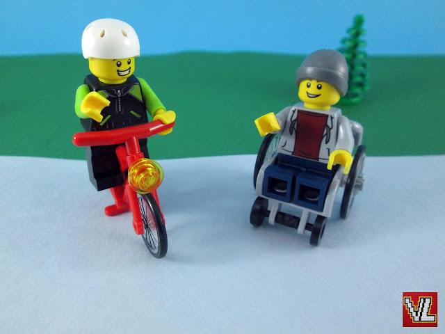 Momentos com minifiguras LEGO