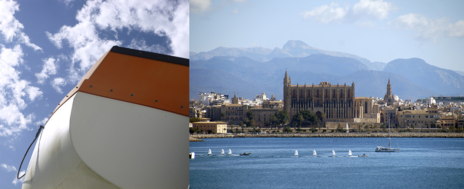 Ynas Reise Blog | Mallorca | Fähre | Blick auf Palma