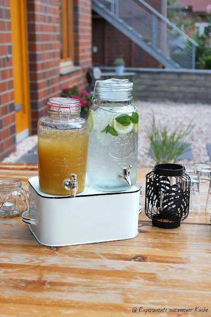 Zitronen-Ananas-Tee | Getränke | Eistee | Rezept