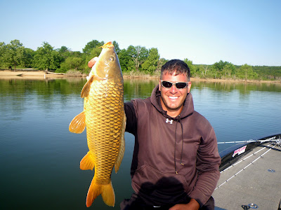 Fishing for big Carp with Eric