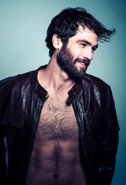 Handsome Sexy Bearded Men