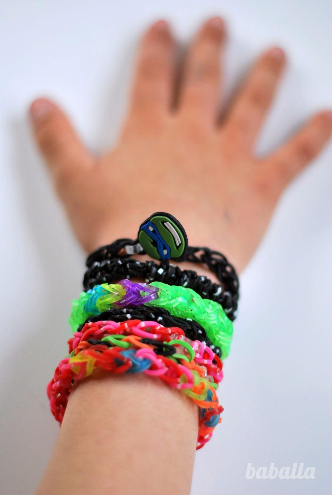tutorial cmo hacer pulseras de gomas Baballa un blog de