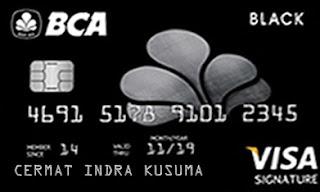 Kartu Kredit BCA Visa Black