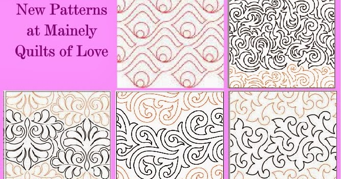 Sewing Amp Quilt Gallery New Quilting Edge To Edge Designs