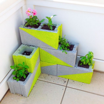 Homemade Planters With Recycled Objects 2