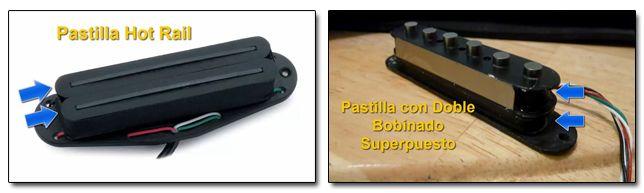 Otros Tipos de Pastillas de Doble Bobina para Reducir Ruidos