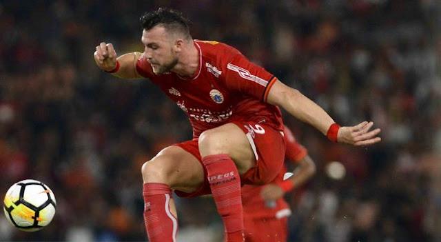 Marko Simic Dilarang Bertanding di Empat Laga Liga 1 2018