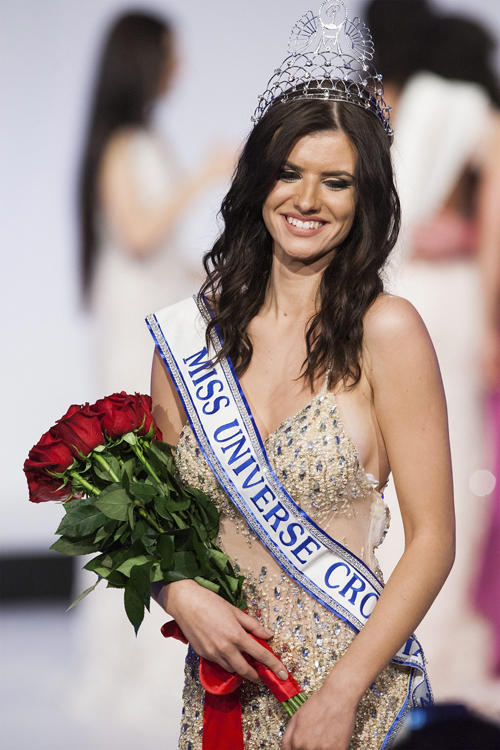 Eye For Beauty Barbara Filipovic Wins Miss Universe Croatia 2016