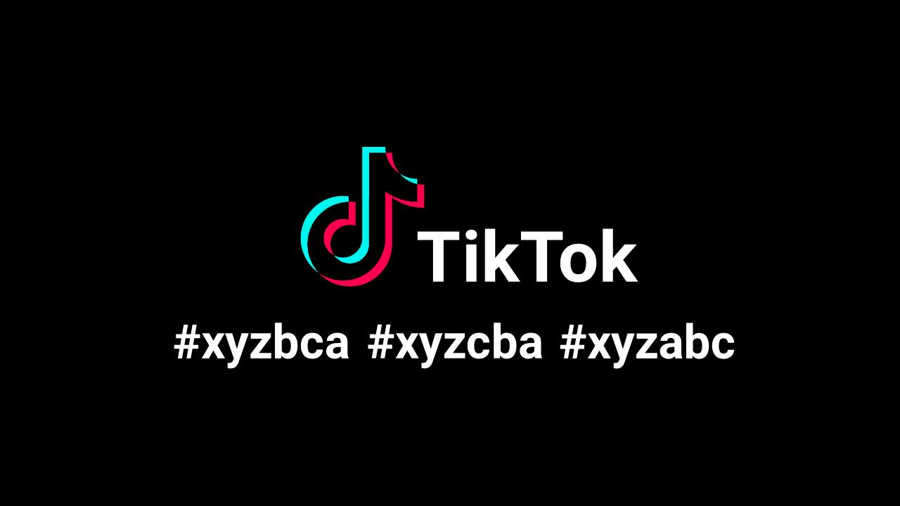 Meaning of 'XYZBCA XYZCBA XYZABC' on TikTok?