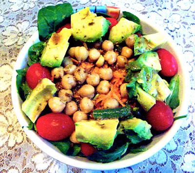 Dressed Protein Salad