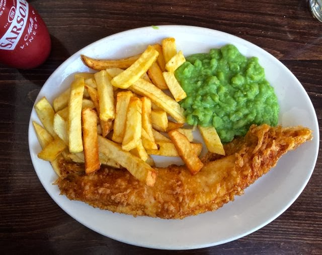Best fish and chips in London // The Golden Hind