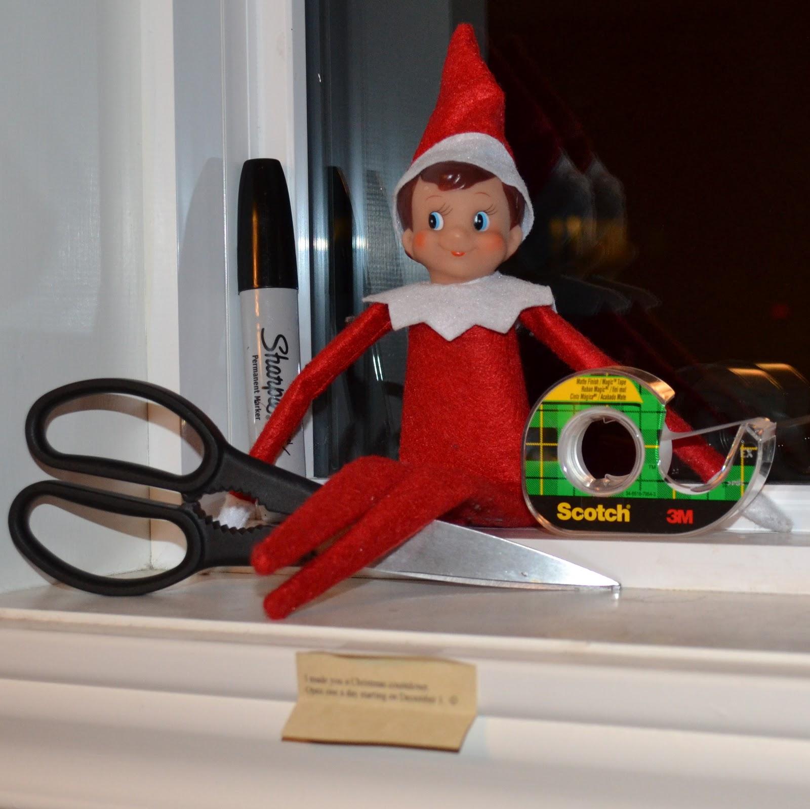 elf on the shelf christmas countdown - Christmas Countdown Ideas