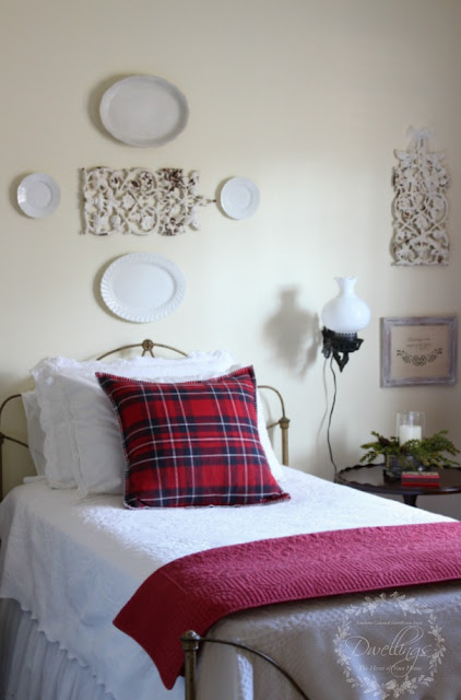 Farmhouse style guest room