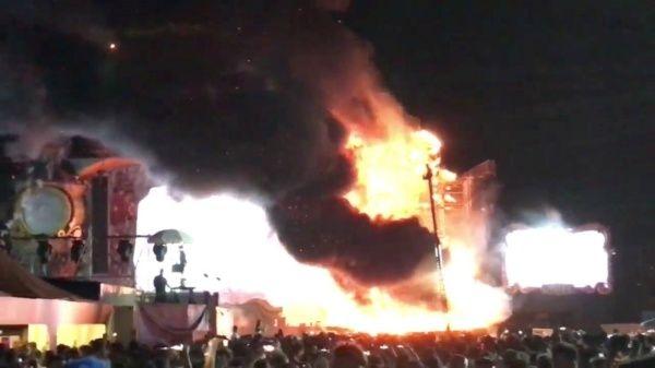Más de 20.000 evacuados en concierto Tomorrowland de España