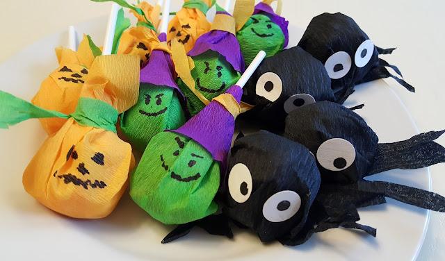 конфеты, хэллоуин