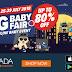 Big Baby Fair 2018 di Lazada, sekarang. Jangan lepaskan peluang ini !