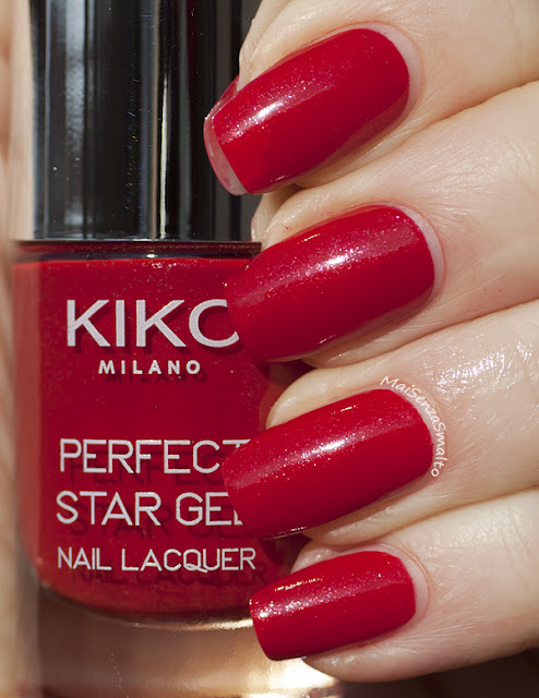 Kiko Perfect Star Gel Duo 02 Intuitive Red