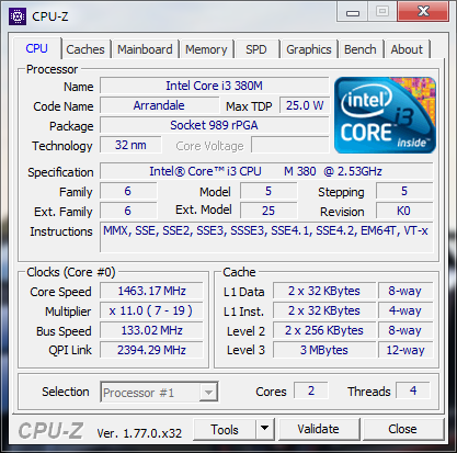 CPU-Z 1.77 Full Download