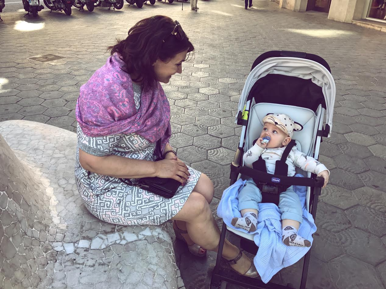 Reclining Travel Pushchair Chicco Ohlala Stroller Review Dana Sky