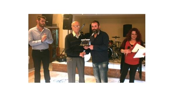 Τιμήθηκε ο Θεόδωρος Γεωργιάδης από την Ένωση Ποντίων Επαρχίας Ελασσόνας