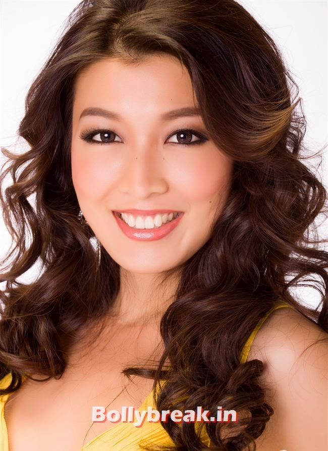 Miss Myanmar, Miss Universe 2013 Contestant Pics