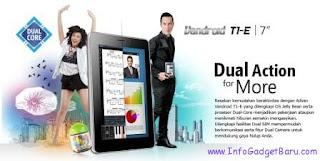 Spesifikasi dan Harga Tablet Advan Vandroid T1E Terbaru 2013