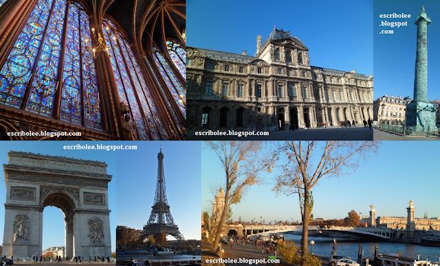 Viaje a París: Sainte Chapelle, Louvre, Plaza Vendôme, Arco del Triunfo, Torre Eiffel y Puente de Alexander III