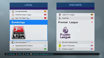PES 2019 PS4 PeSoccerWorld Option File v3.0 Season 2018/2019