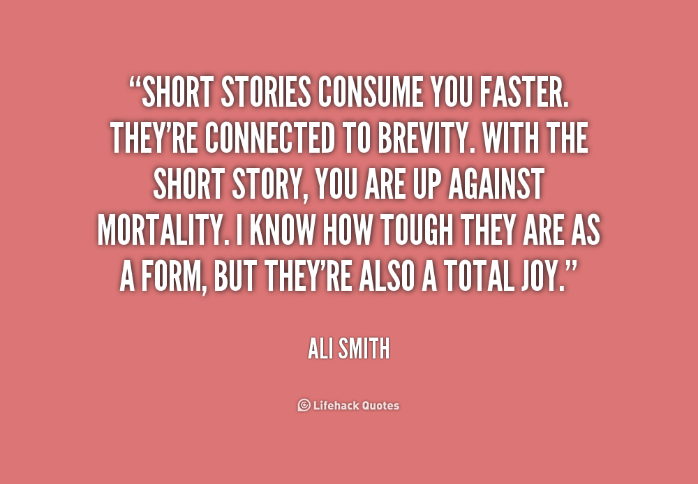 Quotes About Short Stories